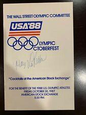 Mary Lou Retton 1984 USA Olympics Gymnastics Signed Autographed Program