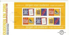 NETHERLANDS 1998 ,First Day Cover 381a  Senior people sheet