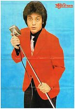 Billy Joel Poster 1977 Israel Entertainment Magazine