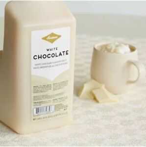 Fontana by Starbucks White Chocolate Mocha Sauce W/ PUMP - best by MARCH 2, 2021
