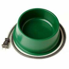 Farm Innovators Qt-1 25 Watt Green Heated Pet Dog Cat Water Bowl
