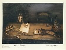 Tale of Tales Norstein's/Norshteyn hand-signed  high quality print(Poet's Table)