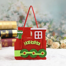 Christmas Candy Bag Elf Elk Pant Treat Pocket Santa Claus Home Party Gift Decor #4