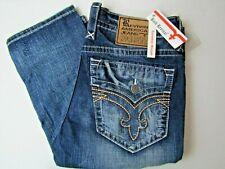 NWT Rock Revival Men's 38x34 Blue Jeans Buckle Denim Designer NEW Kyson Straight