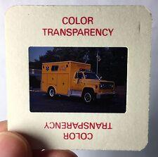 Foto Dia-Positiv Ambulanz, 1981 Chevy, Ranger, Rescue Branford, Conn