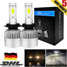 2X H7 200W LED Scheinwerfer HEADLIGHT HI-LO Kit Weiß 6500K 25000LM Canbus Weiß