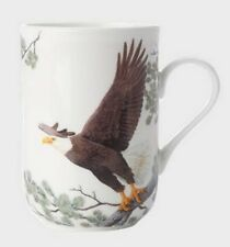 "MAXWELL & WILLIAMS  ""BIRDS OF THE WORLD  'EAGLES ' 300ml MUG"" PBW1060 Gift Boxed"