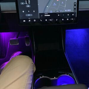 LED Interior Welcome Light Car Door Lamp Puddle Trunk Light For Tesla Model 3