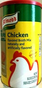 Knorr Chicken Flavored Broth Mix 35.2 oz ( Pack of 6 )