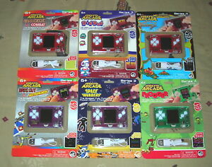 Micro Arcade Millipede Dig Dug Galaga Asteroids Space Invaders & Frogger