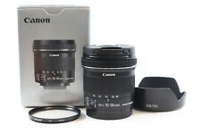 Canon EF-S 10-18mm f4.5-5.6 IS STM Wide Angle Lens -BB 495-