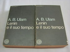 (A.B. Ulam) Lenin e il suo tempo 1967 Vallecchi 2 volumi