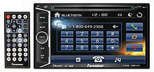 "Farenheit TI-623B 2 Din In-Dash 6.2"" Car Monitor DVD/SD/USB Bluetooth Receiver"