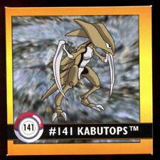 POKEMON STICKER ENGLISH CARD 50X50 1998 NORMAL N°  141 KABUTOPS