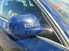 el. Außenspiegel rechts VW Passat 3B 3BG maritimblau LA5E Spiegel blau
