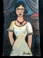 Frieda Modern Art Impressionist Original Painting Juliano, Alberto NYC 1925-2008