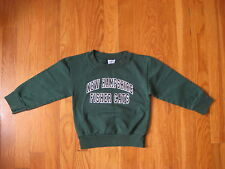 New Hampshire Fisher Cats kids Sweatshirt shirt Nh baseball t toddler Size 3 4 5