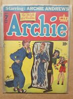 Archie Comics #7 - 1943 Complete Golden Age Comic Book - NEW PICS ADDED!!