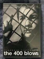 The 400 Blows Dvd Criterion Francois Truffaut French New Wave Jean-Pierre Léaud