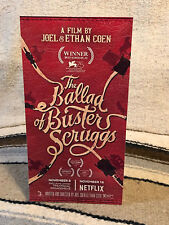 """""""The Ballad of Buster Scruggs"""" Movie Poster Tabletop Display Standee 10 3/4"""" Tl"""