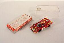 Safir Ferrari 512 M Gelo Racing Team, Made in France, rare, Mint in Box   #ab676
