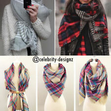 Wool Blend Oversize Scarves & Wraps for Women