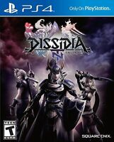 Dissidia Final Fantasy NT (PlayStation 4, PS4) Brand New Factory Sealed