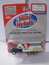 Classic Metal Works Mini Metals 41/46 Chevrolet Delivery Truck Rath Meats 1:87