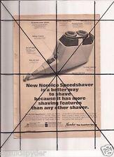 Vintage 1965 Popular Mechanics Magazine Ad A12 Norelco Speedshaver