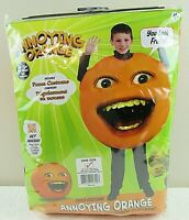 Annoying Orange Poncho Costume Halloween One Size Fits Most 4+