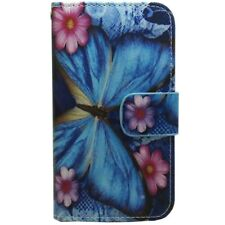 1x Big Butterfly Wallet Card Holder Flip case cover For Various Smart Cell Phone