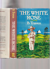 THE WHITE ROSE-B TRAVEN-1979 HB/J RARE 1ST US EDITION, COLLECTIBLE VG