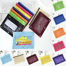 25x18 cm Mesh Pencil Pen Case Zipper Pouch Storage Bag Stationery Supplies 1pc