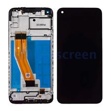 Samsung Galaxy A11 A115F A115M LCD Screen Digitizer Bezel Frame, Black, 159.5 mm
