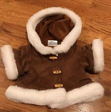 Eskimo Brown Parka Jacket with Hood -  Build a Bear Clothing - Coat