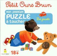 Petit Ours Brun ; mon premier puzzle à toucher les jouets - Neuf - 18 mois et +
