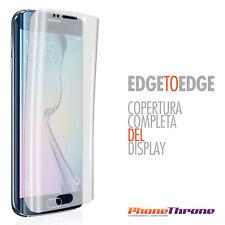 Pellicola Gel Silicone per Samsung Galaxy S6 Edge G925f Proteggi Schermo Display