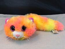 Fiesta Fursian Kitten Cat Sherbert Plush 16'' Inches My Bean Bag Pet Pillow Toy