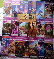 Disney World Magic Kingdom Gigantic Collection Of Twenty Different Park Maps