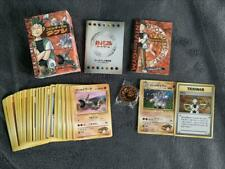 JAPANESE POKEMON CARDS THE NIVI CITY GYM DECK BROCK COMPLET HOLO ONIX COIN