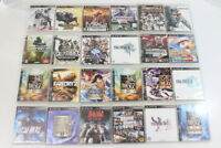 Wholesale Lot of 24 PS3 Games PlayStation PS 3 Japan Import US Seller 3PL002