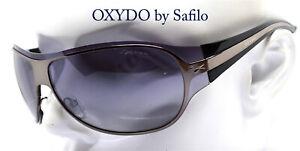 OXYDO by Safilo occhiali da sole uomo maschera ovale avvolgente blu gunmetal