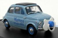 Brumm 1/43 Scale Model Car S07/01 - Fiat D Matteo 4 Luglio 2006 - Blue