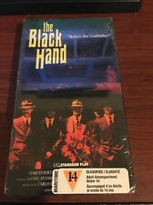 "The Black Hand VHS RARE Brand New and SEALED, ""Before The Godfather"" Edde Ent."
