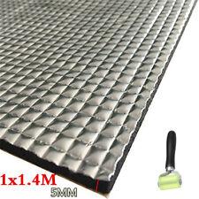 Car Hood Insulation Foam Mat Sound Proofing Heat Shield Floor Mat W/Roller Tool
