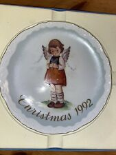 """Schmid """"Sweet Blessings� Collector's plate, Christmas 1992 Limited Edition"""
