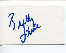 Brittany Lincicome Solheim Cup ANA Inspiration LPGA Golf Golfer Signed Autograph