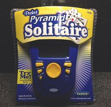 Radica Pocket Pyramid Solitaire 76006  Hand Held Game  2005 New.