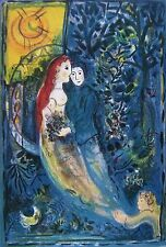 The Wedding, Limited Edition Offset Lithograph, Marc Chagall