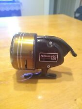 Vintage Olympic Premier #125 Spincasting Reel Good Cond Japan W/ Instructions